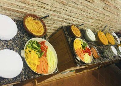 Desayuno bufett